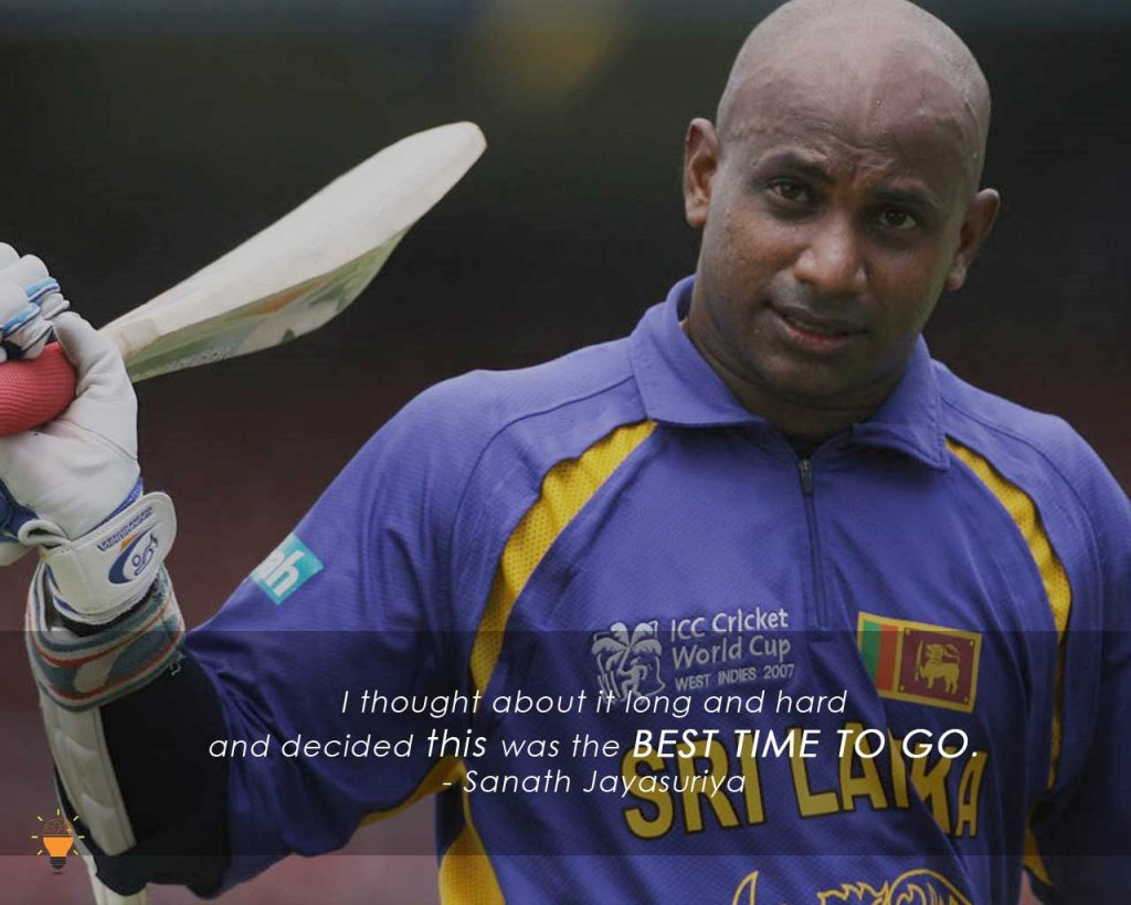Some Inspiring Quotes from Famous Cricketers of the World -Sanath Jayasuriya