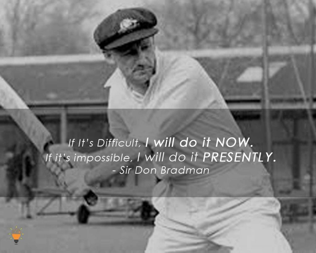 Some Inspiring Quotes from Famous Cricketers of the World- SirDonBradman