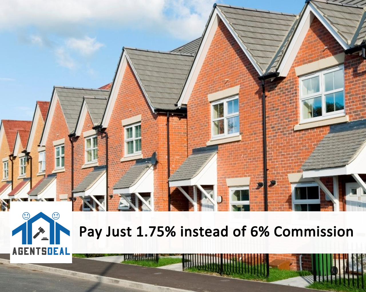 Pay Just 1.75% instead of 6% Commission to Sell Your Home!