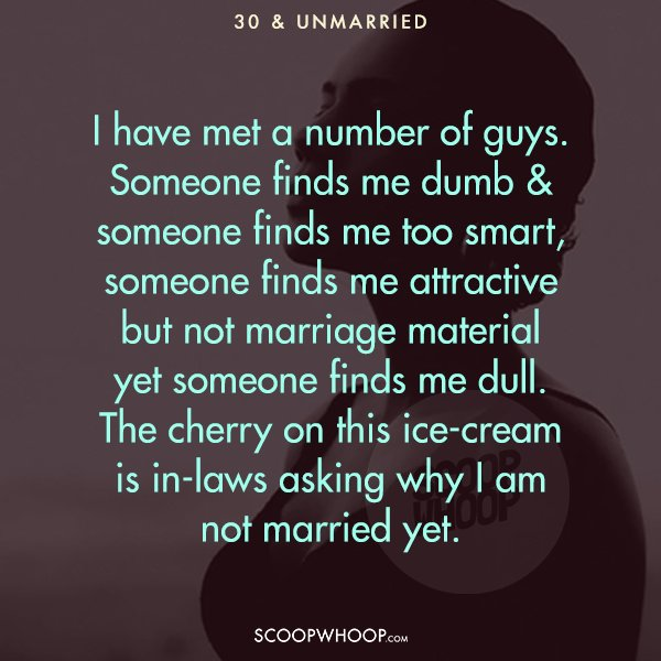 15 Indian Women Reveal What It's Like To Be Unmarried In
